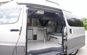 8 Berth Campervan Hire