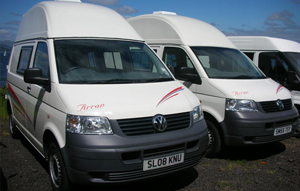 Campervan Hire in the UK